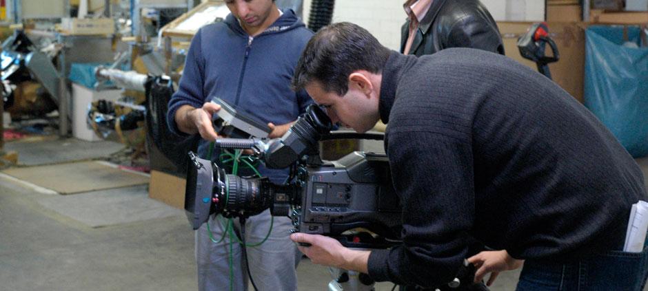 Wir produzieren Videofilme.
